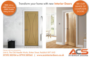 A C S Interior Doors Advert