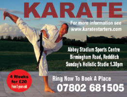 Shatokan Karate Advert