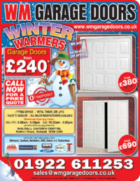 West Midlands Garage Doors Ltd Advert