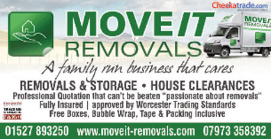 Move It Removals Advert
