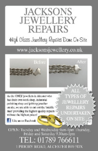 Jacksons Jewellers Advert