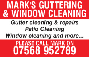 Marks Guttering & Window Cleaning Advert