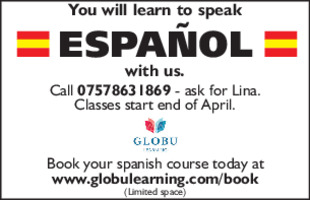 Globu Learning Advert