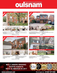 Robert Oulsnam Estate Agents Advert