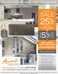 Avanti Kitchens Ltd Advert