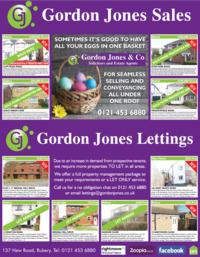Gordon Jones & Co. Advert