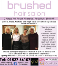 Brushed Hair Salon Advert