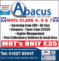 Abacus Auto Services Advert