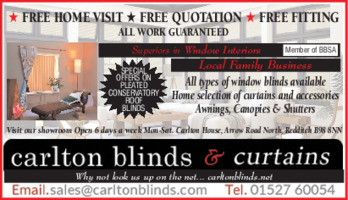 Carlton Blinds Advert