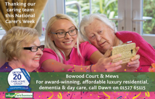 Bowood Court Nursing Home Advert