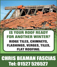 Chris Beaman Fascias Ltd Advert
