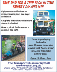 The Transport Museum Advert