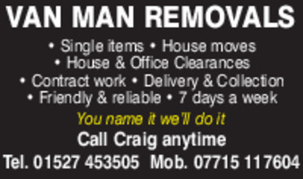 Craig Sable Advert