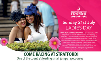Stratford Racecourse Advert