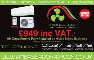 Ambassador Air Conditioning Advert