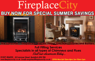 Fireplace City Redditch Ltd Advert