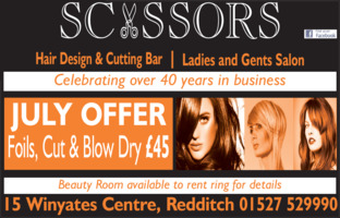 Scissors Advert