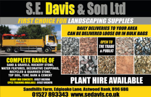 S E Davis & Sons Ltd Advert
