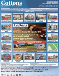 Cottons Property Consultants LLP Advert