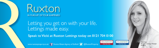 Ruxtons Advert