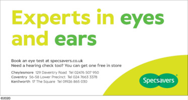 Specsavers Advert