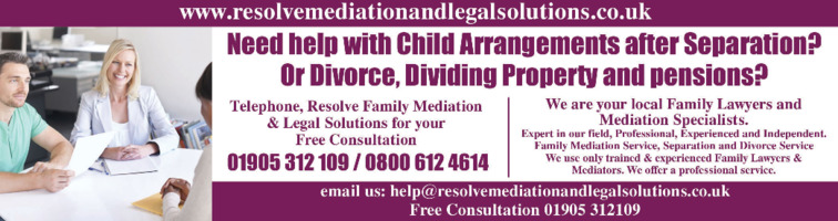 Resolve Mediation & Legal Solutions Advert