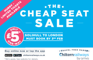 Chiltern Railways Advert