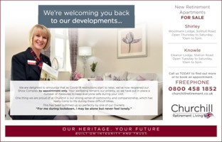 Churchill Retirement Advert