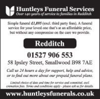 Funeral Partners Ltd Advert
