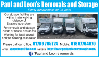 Van & Man Hire Advert