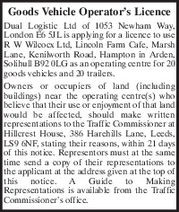 Dual Logistic Ltd Advert