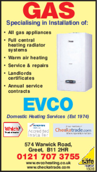 Evco Domestic Heating Advert