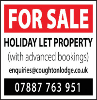 Coughton Lodge Advert