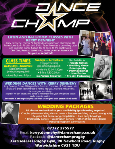 Dance Champ Advert