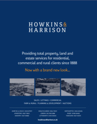 Howkins & Harrison Advert