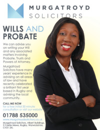 Murgatroyd Solicitors Advert