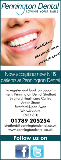 Pennington Dental Advert