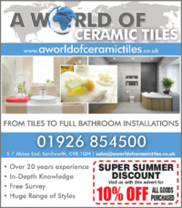 A World Of Ceramic Tiles Advert