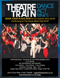 Theatre Train Advert