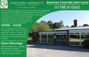 Bawnmore Community Infant School Advert