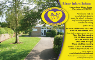 Bilton Infant School Advert