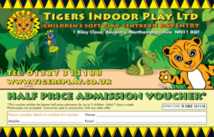 Tigers Indoor Play Ltd Advert