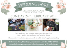 Ullesthorpe Court Hotel Advert