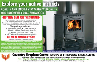 The Fireplace Centre Advert