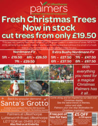 Palmers Garden Centre Advert