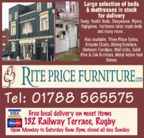 Rite Price Furniture Ltd Advert
