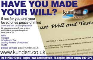 Kundert Solicitors Llp Advert