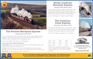 Railway Touring Co Advert