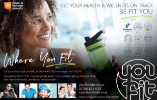 Spirit Health Club Advert