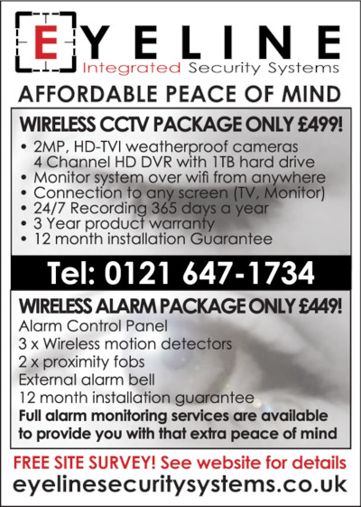 Eyeline Security Systems Ltd Advert